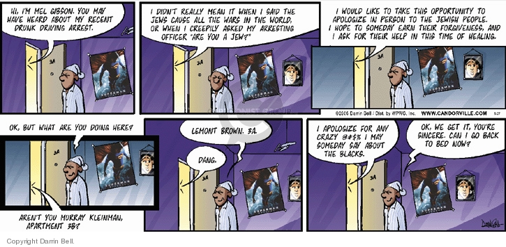 Comic Strip Darrin Bell  Candorville 2006-08-27 equal rights