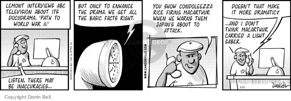 Comic Strip Darrin Bell  Candorville 2006-09-20 Secretary of State