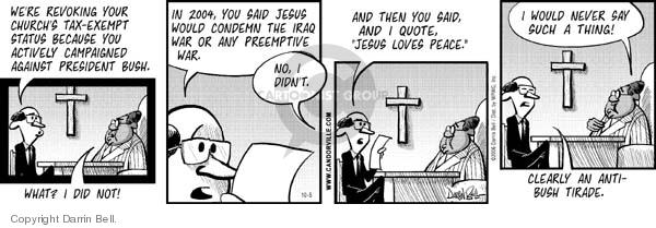 Comic Strip Darrin Bell  Candorville 2006-10-05 tax-exempt