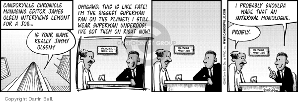 Comic Strip Darrin Bell  Candorville 2006-10-11 internal