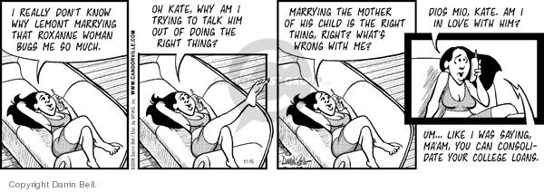Comic Strip Darrin Bell  Candorville 2006-11-16 love