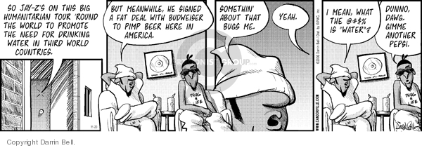 Comic Strip Darrin Bell  Candorville 2006-11-20 beverage