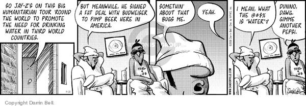 Comic Strip Darrin Bell  Candorville 2006-11-20 beverage