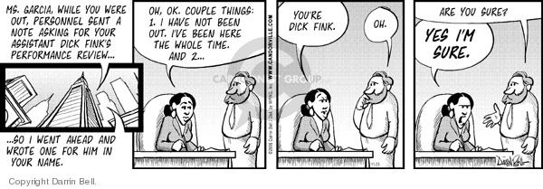 Comic Strip Darrin Bell  Candorville 2006-11-23 evaluation