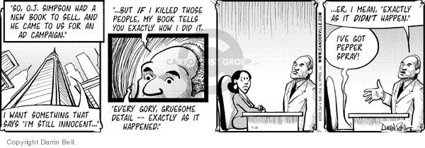 Comic Strip Darrin Bell  Candorville 2006-11-28 employment