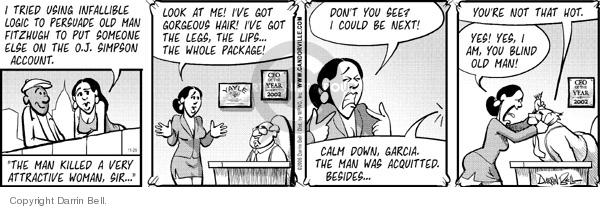 Comic Strip Darrin Bell  Candorville 2006-11-29 hot