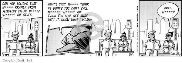 Comic Strip Darrin Bell  Candorville 2006-12-04 Richard