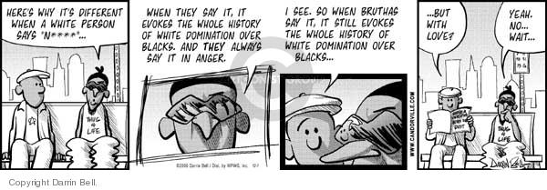 Comic Strip Darrin Bell  Candorville 2006-12-07 love