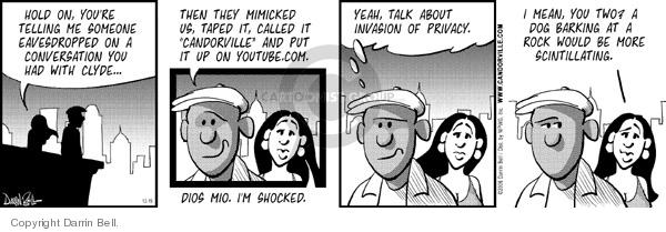 Comic Strip Darrin Bell  Candorville 2006-12-19 call