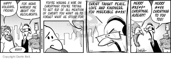 Comic Strip Darrin Bell  Candorville 2006-12-25 love