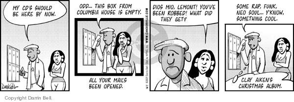 Comic Strip Darrin Bell  Candorville 2007-01-15 odd