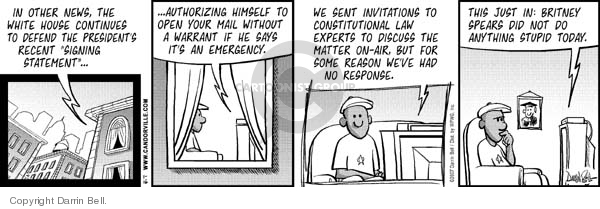 Comic Strip Darrin Bell  Candorville 2007-01-16 continue