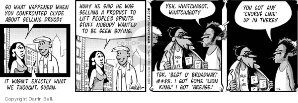 Comic Strip Darrin Bell  Candorville 2007-01-26 reality