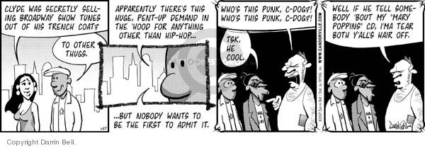 Comic Strip Darrin Bell  Candorville 2007-01-27 secretly