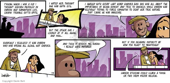 Comic Strip Darrin Bell  Candorville 2007-01-28 mature