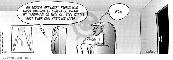 Comic Strip Darrin Bell  Candorville 2007-01-29 better