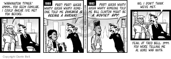 Comic Strip Darrin Bell  Candorville 2007-02-07 bill