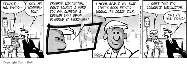 Comic Strip Darrin Bell  Candorville 2007-02-08 election