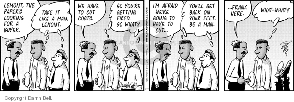 Comic Strip Darrin Bell  Candorville 2007-02-14 buyer