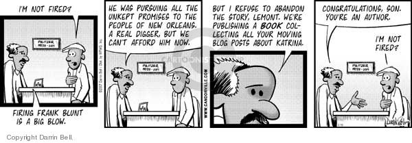 Comic Strip Darrin Bell  Candorville 2007-02-15 writer