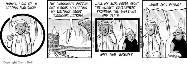 Comic Strip Darrin Bell  Candorville 2007-02-17 post