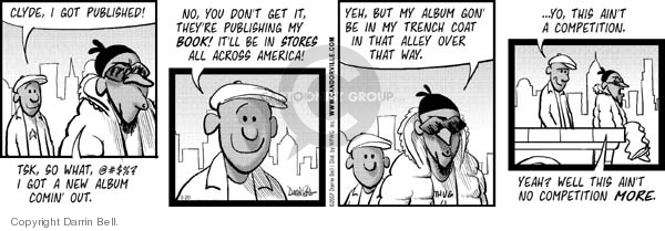 Comic Strip Darrin Bell  Candorville 2007-02-20 alley way