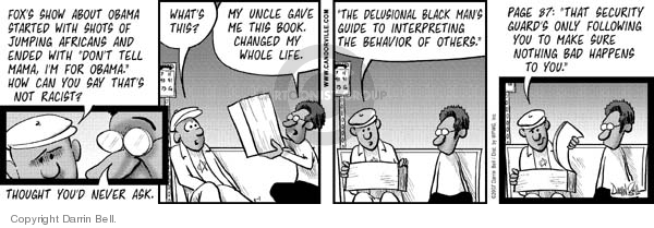 Comic Strip Darrin Bell  Candorville 2007-03-01 delusional