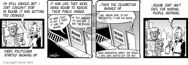 Comic Strip Darrin Bell  Candorville 2007-03-07 alcohol