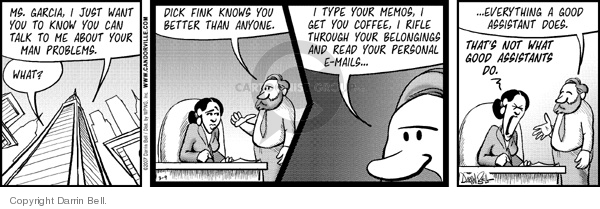 Comic Strip Darrin Bell  Candorville 2007-03-09 personal responsibility