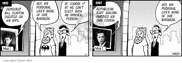 Comic Strip Darrin Bell  Candorville 2007-03-10 election