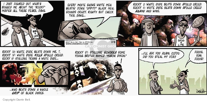 Comic Strip Darrin Bell  Candorville 2007-03-18 grip