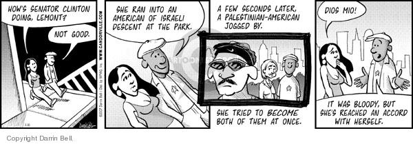 Comic Strip Darrin Bell  Candorville 2007-03-30 animosity