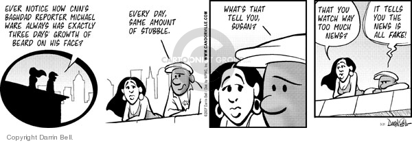 Comic Strip Darrin Bell  Candorville 2007-03-31 truth