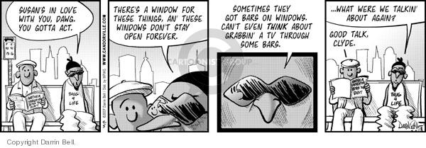 Comic Strip Darrin Bell  Candorville 2007-04-05 affection