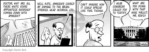 Comic Strip Darrin Bell  Candorville 2007-04-12 injury