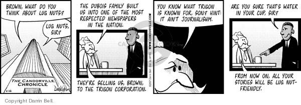 Comic Strip Darrin Bell  Candorville 2007-04-26 cup