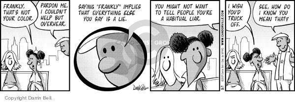 Comic Strip Darrin Bell  Candorville 2007-04-28 language