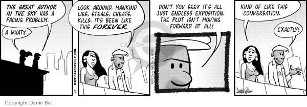 Comic Strip Darrin Bell  Candorville 2007-05-02 writer