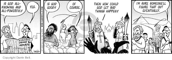 Comic Strip Darrin Bell  Candorville 2007-05-04 slave