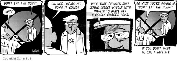 Comic Strip Darrin Bell  Candorville 2007-05-07 diabetes