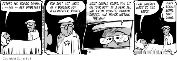Comic Strip Darrin Bell  Candorville 2007-05-08 unhealthy food