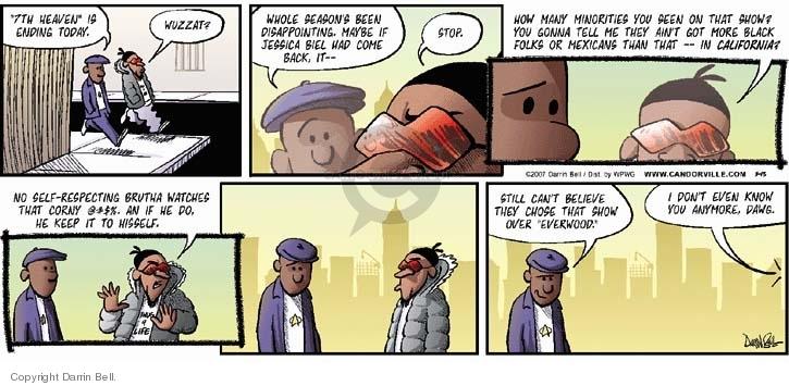 Comic Strip Darrin Bell  Candorville 2007-05-13 demographics
