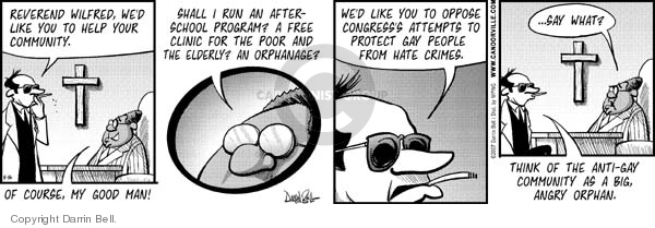 Comic Strip Darrin Bell  Candorville 2007-05-16 protection