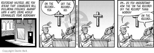 Comic Strip Darrin Bell  Candorville 2007-05-18 fear
