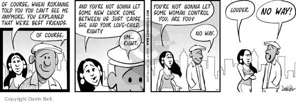 Comic Strip Darrin Bell  Candorville 2007-05-24 command