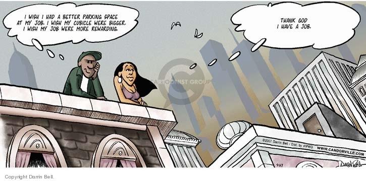 Comic Strip Darrin Bell  Candorville 2007-05-27 better