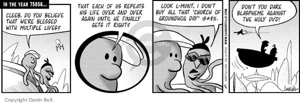 Comic Strip Darrin Bell  Candorville 2007-06-09 zero