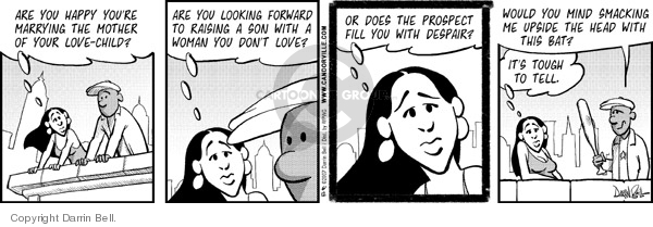 Comic Strip Darrin Bell  Candorville 2007-06-12 despair