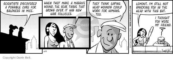 Comic Strip Darrin Bell  Candorville 2007-06-13 experiment