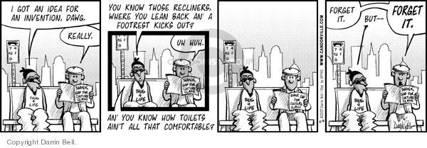 Comic Strip Darrin Bell  Candorville 2007-06-16 pleasure
